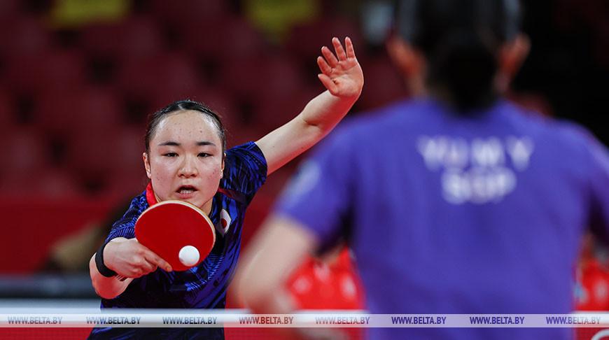 Японская теннисистка заняла третье место в турнире по настольному теннису в Токио
