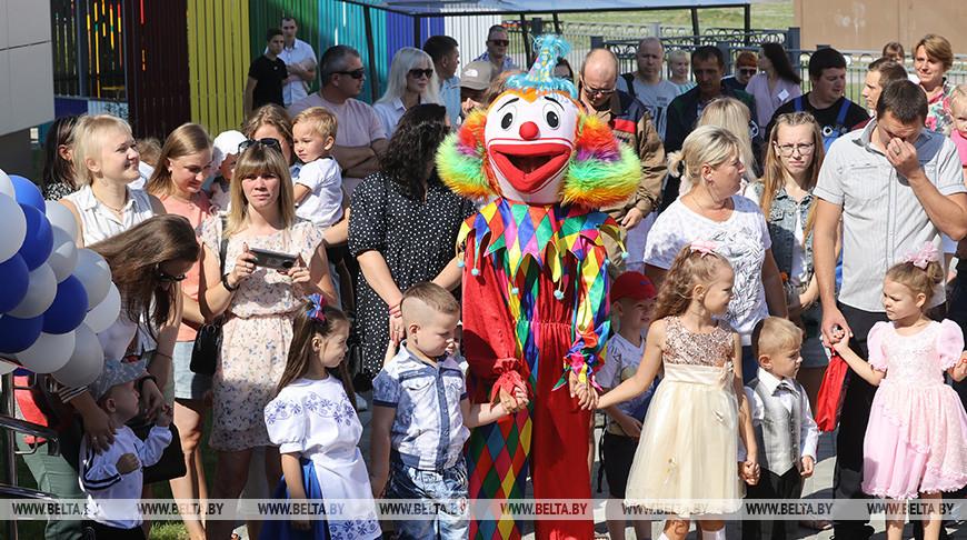 Дошкольный центр развития ребенка открыли в Петрикове