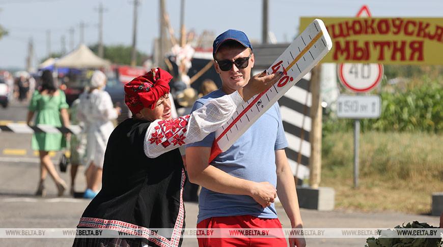 "Фестиваль народного юмора ""Аўцюкi-2021"" прошел в Калинковичском районе"