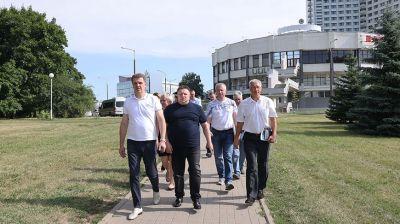 Рейд по озеленению прошел в Минске