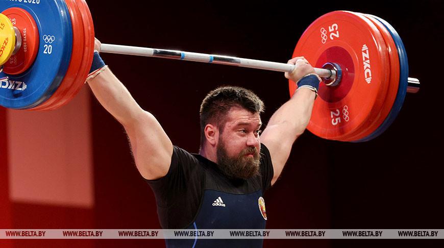 Тяжелоатлет Евгений Тихонцов не смог вмешаться в борьбу за медали Игр в Токио