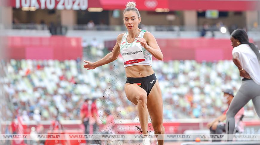 Прыгунья в длину Анастасия Мирончик-Иванова не квалифицировалась в финал Олимпиады