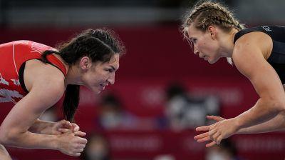 Василиса Марзалюк с поражения начала турнир по женской борьбе на Играх в Токио