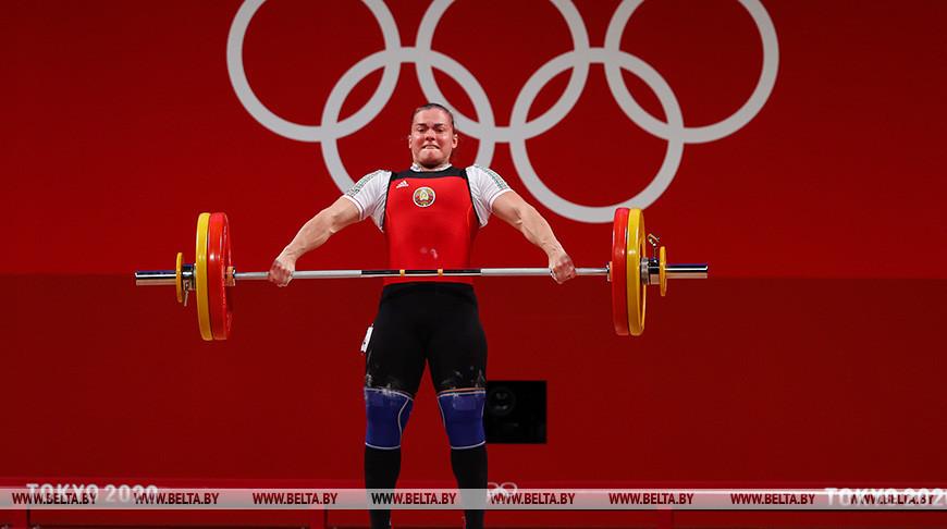 Тяжелоатлетка Дарья Наумова заняла 5-е место на Играх в Токио