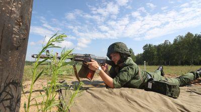 Занятия по огневой подготовке проходят на 227-м общевойсковом полигоне
