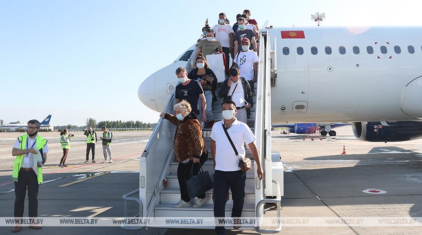 Первый самолет авиакомпании Avia Traffic Company прибыл из Бишкека в Минск
