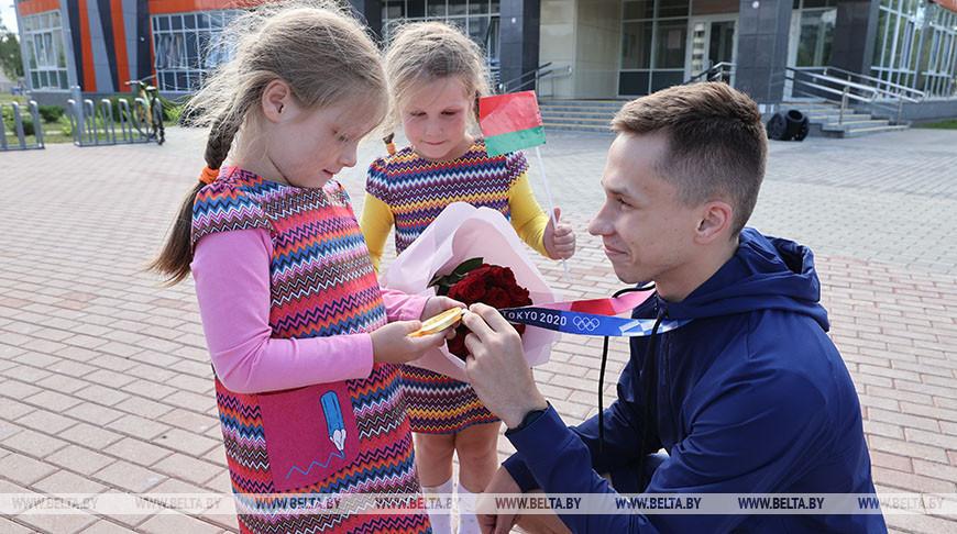 Иван Литвинович встретился с витебчанами