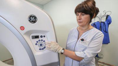 Кабинет компьютерной томографии открыли в Барановичском онкодиспансере