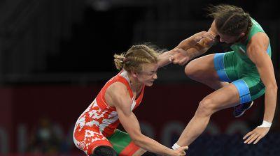 Ирина Курочкина вышла в финал Олимпиады в турнире по женской борьбе
