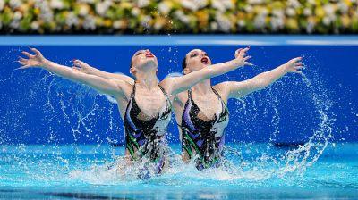 Белорусские синхронистки заняли 11-е место в олимпийском финале дуэтов