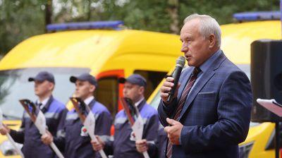 В поселке Язвино Витебской области прошла церемония пуска природного газа