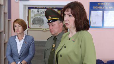 Кочанова передала кислородный концентратор в подарок Дому ребенка ИК №4 в Гомеле