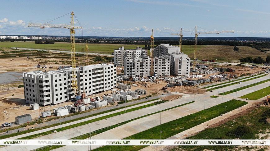 В Лиде возводится самый большой жилой микрорайон