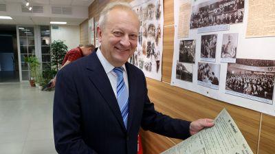 В Могилеве презентовали выставку об истории города накануне воссоединения Западной Беларуси и БССР