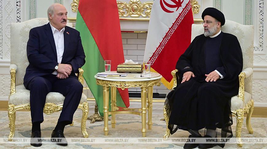 Лукашенко встретился с Президентом Ирана