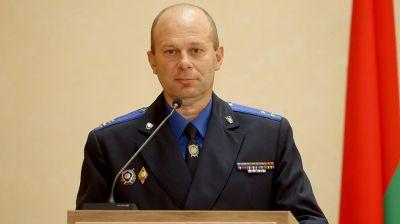 Новый руководитель представлен коллективу СК по Витебской области