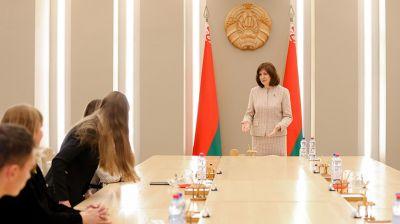 Кочанова встретилась с членами первичных организаций Союза женщин МВД