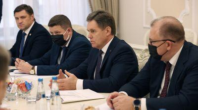 Петришенко встретился с членом Коллегии по торговле ЕЭК
