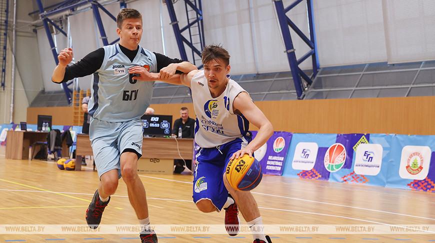 Турнир по баскетболу 3х3 среди студенческих команд проходит в Минске