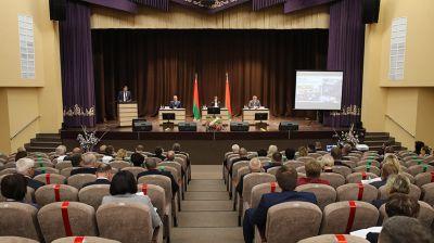 Выездное заседание Президиума Совета Республики в Березе