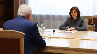 Кочанова встретилась с послом Молдовы
