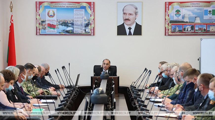 Вольфович встретился с активом Островецкого района