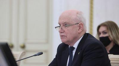 Лебедев: заседание Совета глав государств СНГ прошло четко и организованно