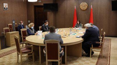 Совещание по вопросам противодействия распространению коронавирусной инфекции прошло в Совете Республики