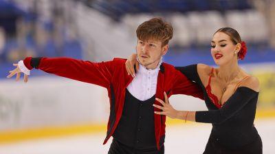 Фигуристы Виктория Семенюк и Илья Юхимук выиграли турнир Ice Star в Минске
