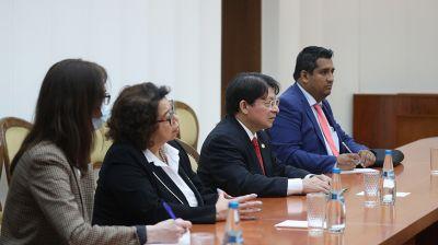 Макей встретился с главой МИД Никарагуа