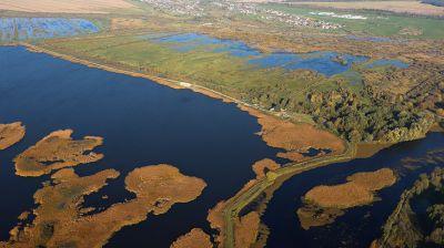Осенняя Беларусь с высоты птичьего полета