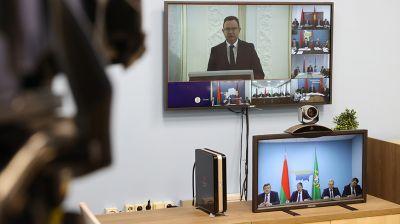 Руководство Гомельской области приняло участие в совещании по эпидемиологической ситуации