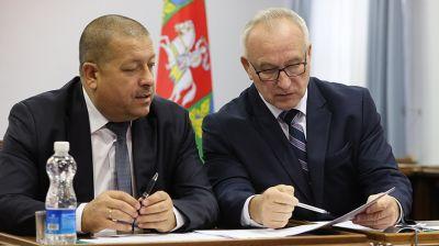 Витебская область приняла участие в совещании по COVID-19