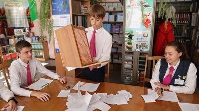 В Речицком районном лицее состоялись выборы в правительство Лицейской республики