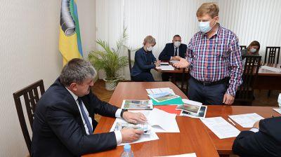 Геннадий Соловей провел прием граждан в Рогачеве