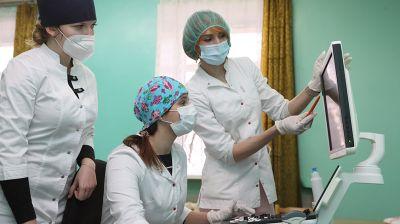 Витебский медуниверситет закупил пять современных аппаратов ультразвуковой диагностики