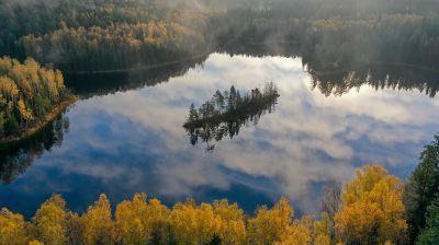 """Осень в заказнике """"Голубые озера"""""""