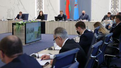 Кочанова приняла участие в заседании Мингорисполкома