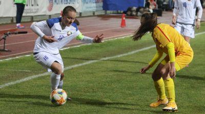Сборная Беларуси среди девушек обыграла команду Северной Македонии в матче квалификации ЧЕ-2022