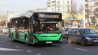 Новый белорусский электробус курсирует в Витебске