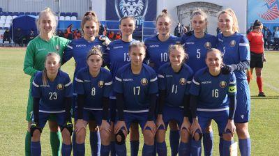 Белорусские юниорки вышли в основной раунд квалификации чемпионата Европы по футболу