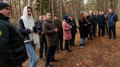 """Семинар """"Ревайлдинг как основа организации экологического туризма"""" прошел в Налибокской пуще"""