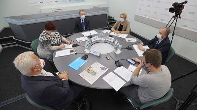 """Заседание """"Экспертной среды"""" о новом проекте Налогового кодекса прошло в БЕЛТА"""