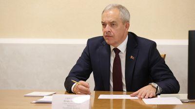 Сергеенко провел прием граждан в Вилейке