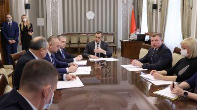 Субботин провел селекторное совещание по вопросам обеспечения завершения полевых работ