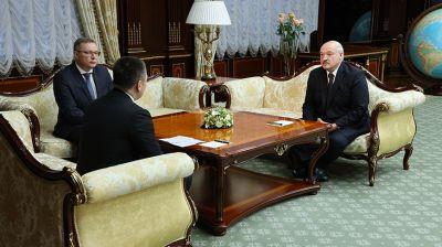 Лукашенко встретился с генеральным прокурором России