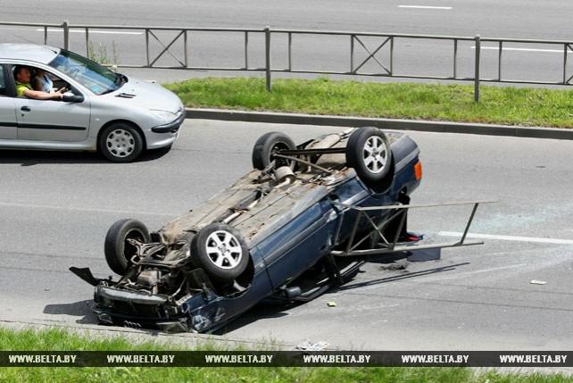 В Гродно на проспекте Клецкова произошло серьезное ДТП