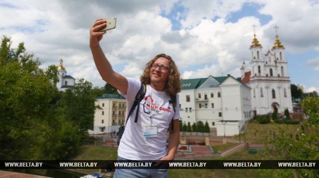 Участники конгресса русской прессы познакомились с Витебском и Полоцком