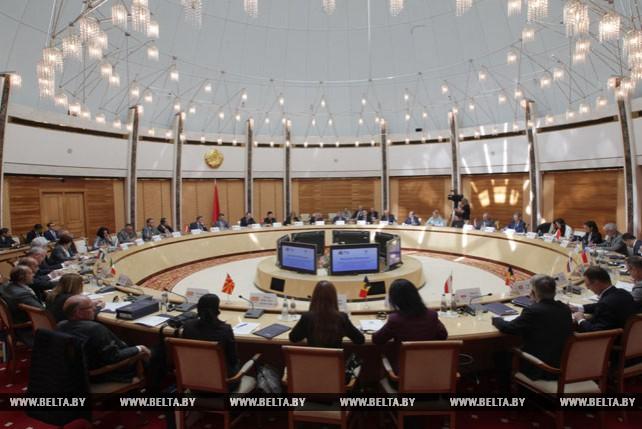 Встреча руководителей торгово-промышленных палат стран ЦЕИ в Минске