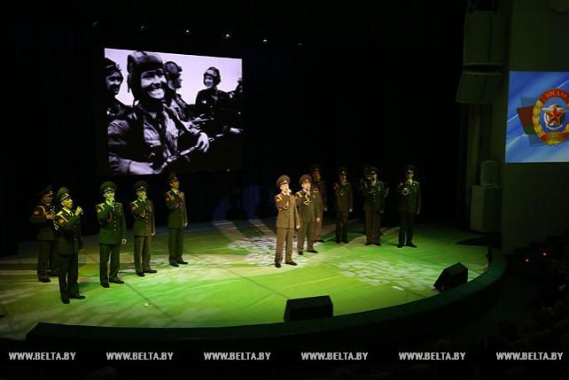 Торжественное собрание, посвященное 90-летию ДОСААФ Беларуси, прошло в Минске